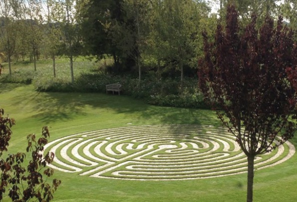More than 60 kits of ProJoint V75-WT used for a stunning stone labyrinth