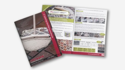paving ancillary brochure spread